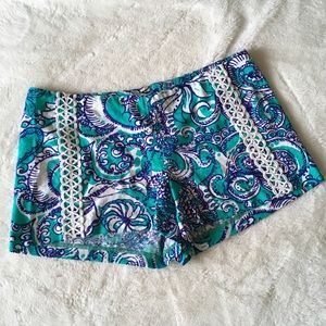 Lilly Pulitzer Liza Short in Montauk Size 6